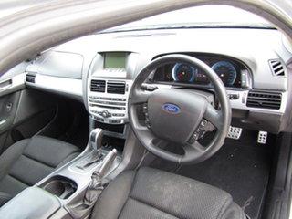 2011 Ford Falcon FG MkII XR6 Adventurine Silver 6 Speed Sports Automatic Sedan