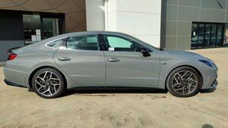 2021 Hyundai Sonata DN8.V1 MY21 N Line DCT Hamtpon Grey / 8 Speed Sports Automatic Dual Clutch Sedan.