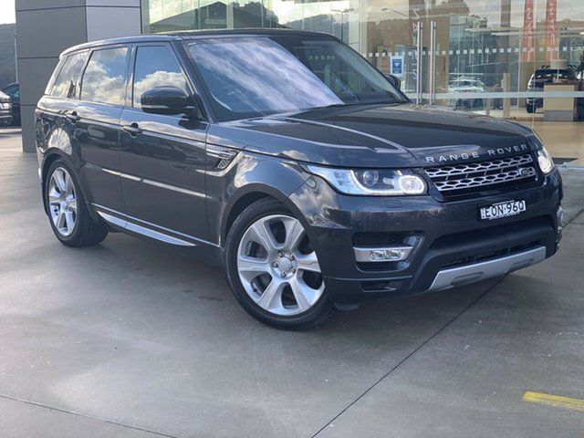 Used Land Rover Range Rover Sport L494 16MY HEV Autobiography West Gosford, 2015 Land Rover Range Rover Sport L494 16MY HEV Autobiography Grey 8 Speed Sports Automatic Wagon