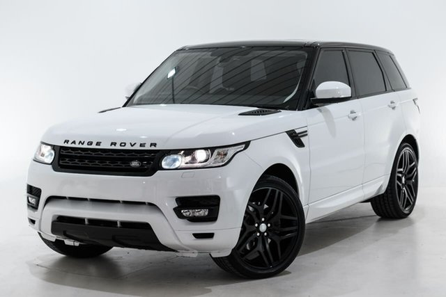 Used Land Rover Range Rover Sport L494 15.5MY S Berwick, 2015 Land Rover Range Rover Sport L494 15.5MY S White 8 Speed Sports Automatic Wagon