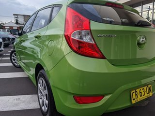 2013 Hyundai Accent RB Active Green 5 Speed Manual Hatchback