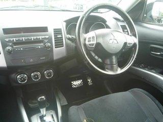 2010 Mitsubishi Outlander ZH MY11 XLS Black 6 Speed Constant Variable Wagon