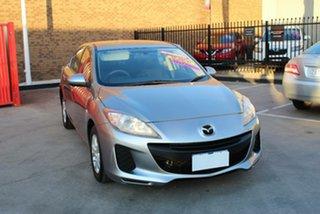 2013 Mazda 3 BM Neo Silver 6 Speed Automatic Sedan.