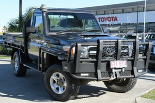 2011 Toyota Landcruiser VDJ79R MY10 GXL Graphite 5 Speed Manual Cab Chassis.