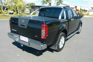 2014 Nissan Navara D40 S7 ST Black 5 Speed Sports Automatic Utility.