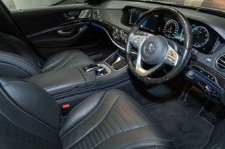 2017 Mercedes-Benz S-Class W222 808MY S560 9G-Tronic Selenite Grey 9 Speed Sports Automatic Sedan.