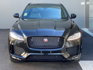 2020 Jaguar F-PACE X761 MY20 Chequered Flag Black 8 Speed Sports Automatic Wagon