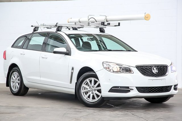 Used Holden Commodore VF II MY16 Evoke Sportwagon Erina, 2016 Holden Commodore VF II MY16 Evoke Sportwagon White 6 Speed Sports Automatic Wagon