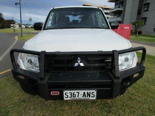 2008 Mitsubishi Pajero NS GLX LWB (4x4) White 5 Speed Manual Wagon.