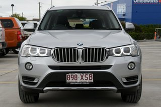 2017 BMW X3 F25 LCI xDrive20i Steptronic Silver 8 Speed Automatic Wagon