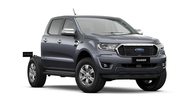 New Ford Ranger PX MkIII 2021.25MY XLT Double Cab Rutherford, 2021 Ford Ranger PX MkIII 2021.25MY XLT Double Cab Meteor Grey 10 Speed Sports Automatic