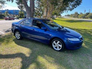 2004 Mazda 6 GG1031 MY04 Limited Blue 4 Speed Sports Automatic Sedan