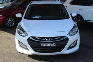 2014 Hyundai i30 GD MY14 Elite White 6 Speed Sports Automatic Hatchback.