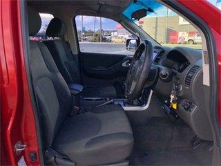 2012 Nissan Navara D40 S6 ST Red 6 Speed Manual Utility