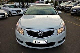 2012 Holden Cruze JH Series II MY12 CDX White 6 Speed Sports Automatic Sedan