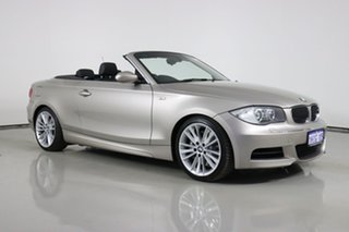 2008 BMW 135i E88 Gold 6 Speed Automatic Convertible.