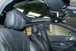 2017 Mercedes-Benz S-Class W222 808MY S560 9G-Tronic Selenite Grey 9 Speed Sports Automatic Sedan