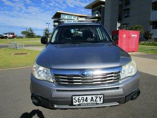 2010 Subaru Forester MY10 X Silver 4 Speed Auto Elec Sportshift Wagon.