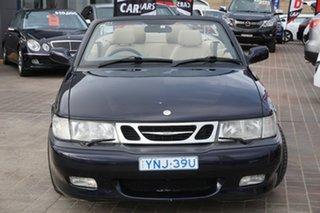 2002 Saab 9-3 MY2003 Turbo Blue 5 Speed Manual Convertible