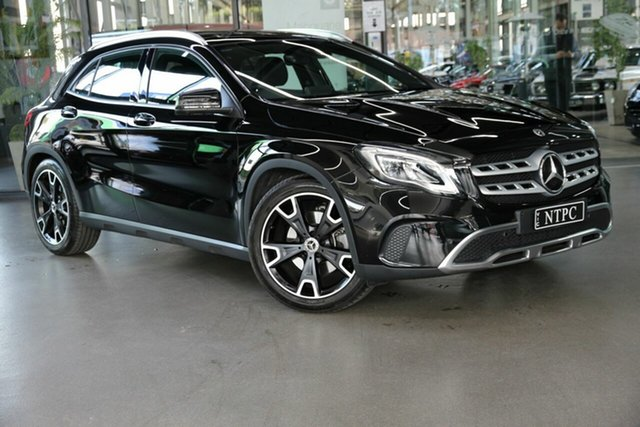 Used Mercedes-Benz GLA-Class X156 809MY GLA250 DCT 4MATIC North Melbourne, 2018 Mercedes-Benz GLA-Class X156 809MY GLA250 DCT 4MATIC Black 7 Speed Sports Automatic Dual Clutch