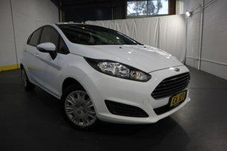 2016 Ford Fiesta WZ Ambiente White 5 Speed Manual Hatchback.