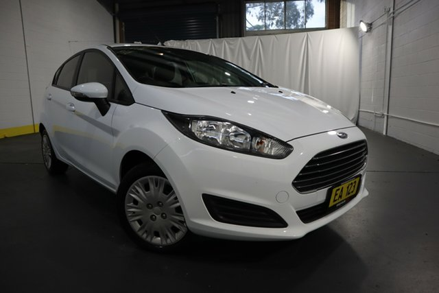 Used Ford Fiesta WZ Ambiente Castle Hill, 2016 Ford Fiesta WZ Ambiente White 5 Speed Manual Hatchback