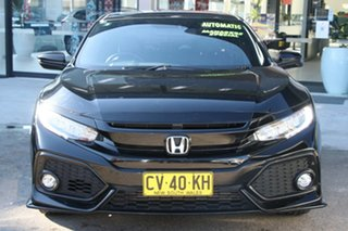2017 Honda Civic 10th Gen MY17 RS Black 1 Speed Constant Variable Hatchback