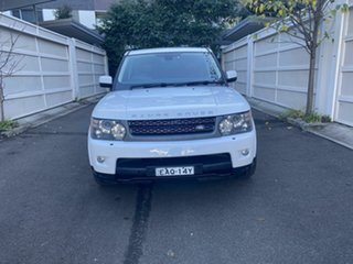 2011 Land Rover Range Rover Sport L320 11MY TDV6 White 6 Speed Sports Automatic Wagon.