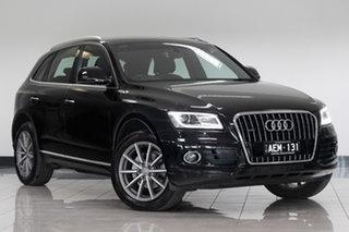 2015 Audi Q5 8R MY15 TFSI Tiptronic Quattro Black 8 Speed Sports Automatic Wagon.