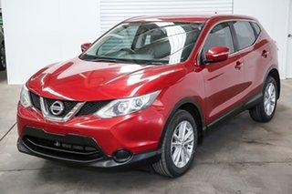 2014 Nissan Qashqai J11 ST Red 6 Speed Manual Wagon.