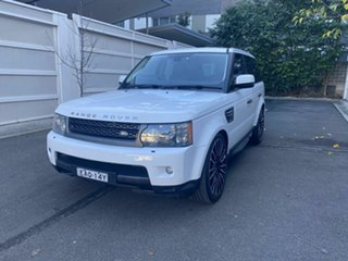 2011 Land Rover Range Rover Sport L320 11MY TDV6 White 6 Speed Sports Automatic Wagon