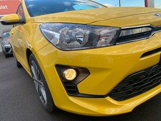 2021 Kia Rio YB MY21 SX Mighty Yellow 6 Speed Automatic Hatchback.