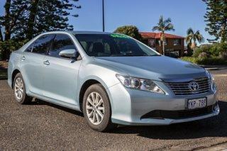 2014 Toyota Aurion GSV50R AT-X Blue 6 Speed Sports Automatic Sedan.