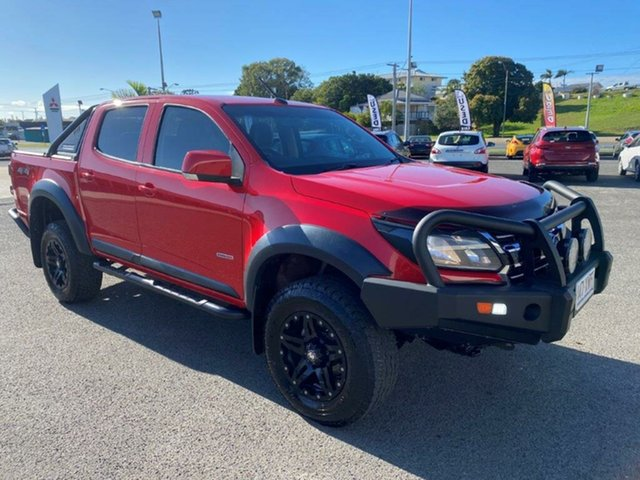 Used Holden Colorado RG MY17 LS Pickup Crew Cab Gladstone, 2017 Holden Colorado RG MY17 LS Pickup Crew Cab Red 6 Speed Manual Utility
