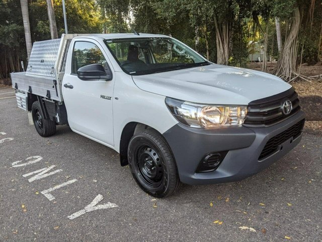 Used Toyota Hilux TGN121R Workmate 4x2 Stuart Park, 2016 Toyota Hilux TGN121R Workmate 4x2 White 6 Speed Sports Automatic Cab Chassis