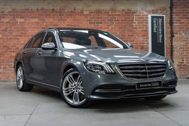 Certified Pre-Owned Mercedes-Benz S-Class W222 808MY S560 9G-Tronic Mulgrave, 2017 Mercedes-Benz S-Class W222 808MY S560 9G-Tronic Selenite Grey 9 Speed Sports Automatic Sedan
