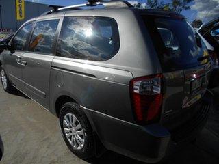 2010 Kia Grand Carnival VQ MY11 SI Silver 6 Speed Sports Automatic Wagon