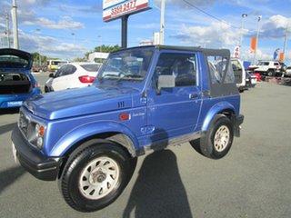 1998 Suzuki Sierra Limited Edition JX Blue 5 Speed Manual Softtop.