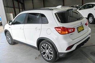 2018 Mitsubishi ASX XC MY18 LS 2WD ADAS White 1 Speed Constant Variable Wagon