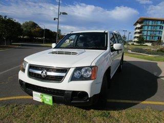2008 Holden Colorado RC LX (4x2) White 5 Speed Manual Crew Cab Pickup