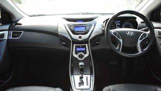 2012 Hyundai Elantra MD Premium Blue 6 Speed Sports Automatic Sedan.