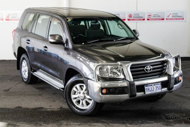 Pre-Owned Toyota Landcruiser VDJ200R MY12 GXL (4x4) Myaree, 2012 Toyota Landcruiser VDJ200R MY12 GXL (4x4) Graphite 6 Speed Automatic Wagon