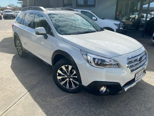 Used Subaru Outback B6A MY16 2.0D CVT AWD Premium Hillcrest, 2016 Subaru Outback B6A MY16 2.0D CVT AWD Premium White 7 Speed Constant Variable Wagon