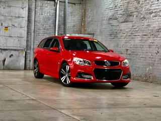 2015 Holden Commodore VF MY15 SV6 Sportwagon Storm Red 6 Speed Sports Automatic Wagon.