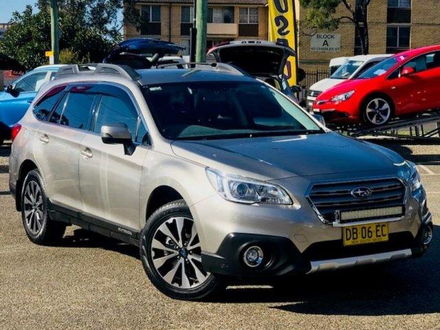 Used Subaru Outback B6A MY16 2.5i CVT AWD Liverpool, 2016 Subaru Outback B6A MY16 2.5i CVT AWD Silver 6 Speed Constant Variable Wagon