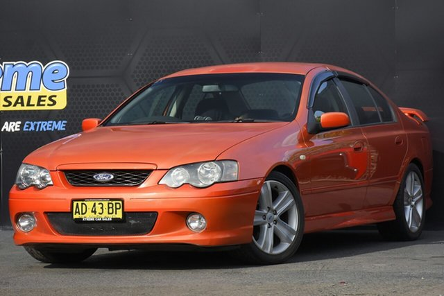 Used Ford Falcon BA Mk II XR6 Campbelltown, 2005 Ford Falcon BA Mk II XR6 Orange 4 Speed Sports Automatic Sedan