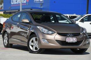 2013 Hyundai Elantra MD2 Elite Bronze 6 Speed Sports Automatic Sedan.