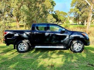 2013 Mazda BT-50 UP0YF1 XTR Black 6 Speed Sports Automatic Utility