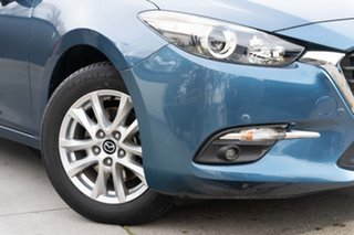 2018 Mazda 3 BN5478 Touring SKYACTIV-Drive Blue 6 Speed Sports Automatic Hatchback.