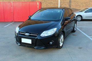 2011 Ford Focus LV MY11 TDCi Black 6 Speed Automatic Hatchback.